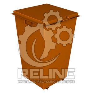 Контейнер для ТПВ 500л металевий