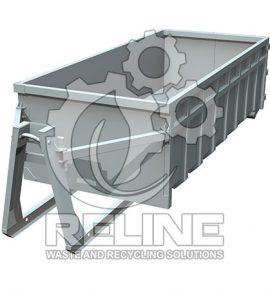 Контейнер під крюковий зачіп 19м3 для крана муніпулятора
