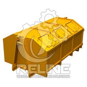 Контейнер мультиліфт для ТПВ 13м3 міський 6 люків