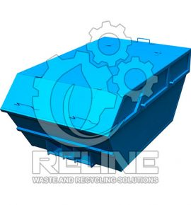 Бункер човник для сміття 6м3