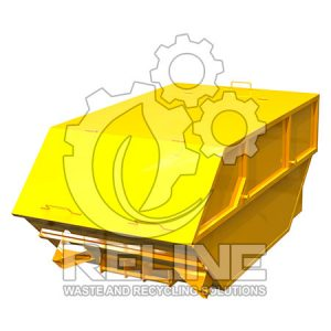 Бункер накопичувач для сміття 8м3