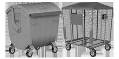 Сміттєві контейнери