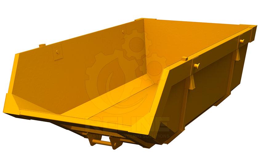 Бункер-накопичувач для портального сміттєвоза