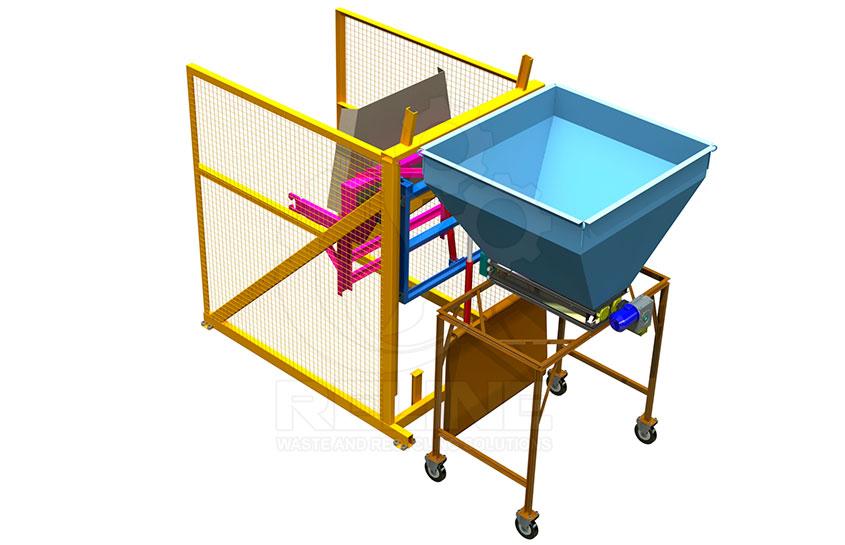 Перекидач контейнерів (ротатор)